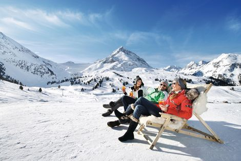 Enjoying the sun | © Innsbruck Tourismus / Edi Groeger
