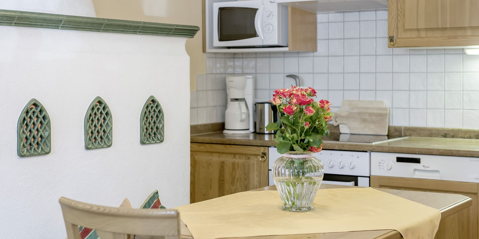 """Wohnküche im Appartement """"Die Tuxerin"""""""