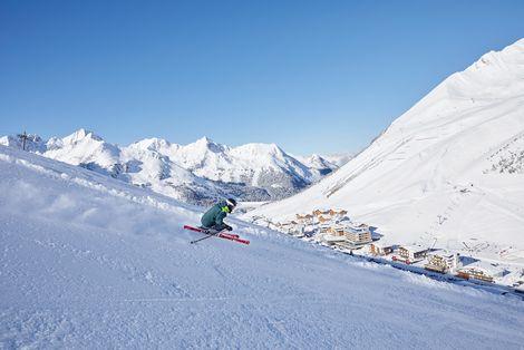 Skiing in Kühtai | © Innsbruck Tourismus / Christian Vorhofer
