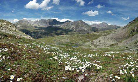 Summer landscape in the Kühtai | © Innsbruck Tourismus / Markus Moser