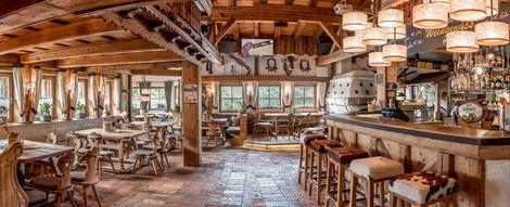 Fine dining in the Kühtaier Dorfstadl